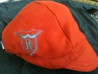 Orange Wool Cap